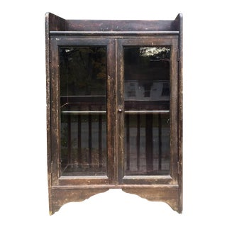 Distressed Wooden Bookcase