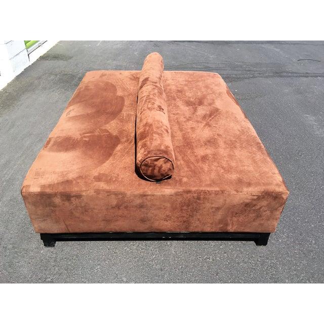 Image of Dark Brown Microfiber Day Bed
