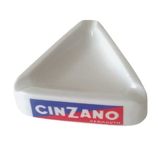 Italian Mid-Century Cinzano Ashtray