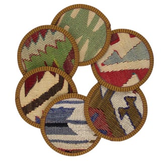 Fatimah Kilim Coasters - Set of 6