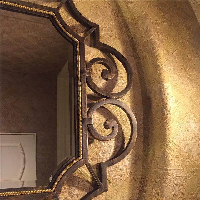 Theodore Alexander Beveled Mirror - Image 4 of 6