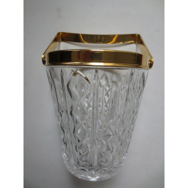Image of William Adams Gilt & Glass Ice Bucket