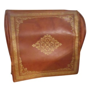 Antique Leather Bill Holder