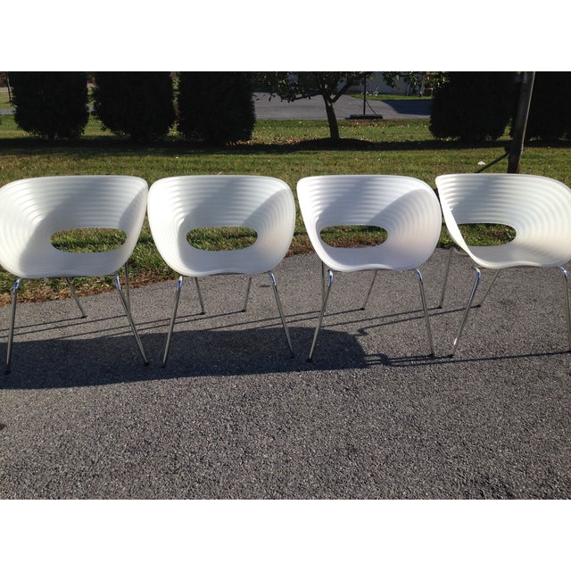 Image of Vitra Tom Vac or T-Vac Chairs Ron Arad - Set of 4