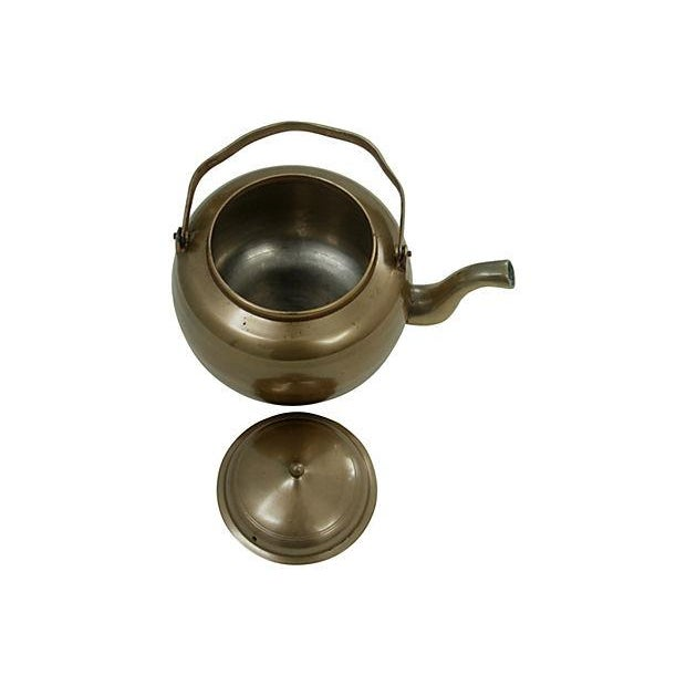 Brass Kettle and Warming Plate - Image 7 of 7