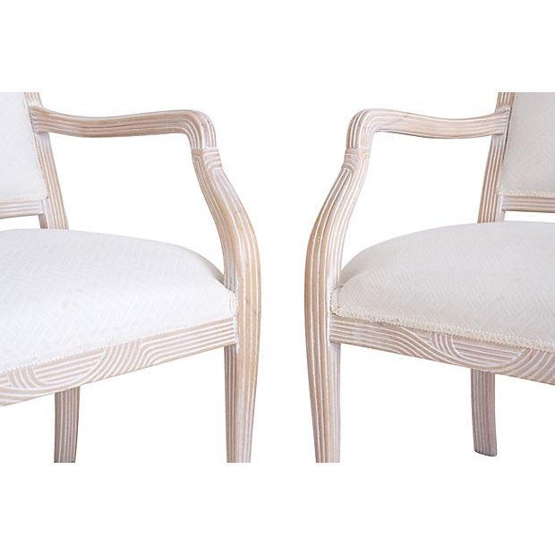 Italian Armchairs by Chateaux D'Ax - a Pair - Image 4 of 7