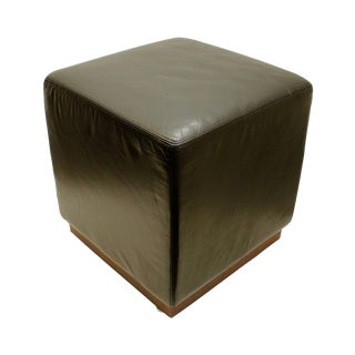 Design Within Reach American Leather Ottoman