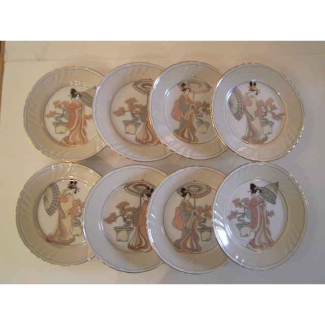 Vintage Fitz & Floyd Plates - Set of 8 - Image 2 of 8
