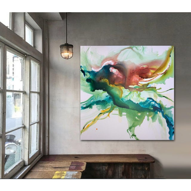 Image of Hustle & Flow Original Abstract Painting
