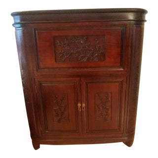 Antique Wooden Dry Bar