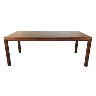 Fine Rift Oak Dining Table by Johan Tapp