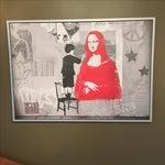 Image of Mona Lisa Bansky Print