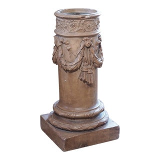 Terra Cotta Column Pedestal