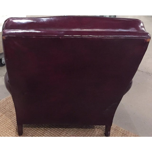 Mid Century Sloane Leather Club Chair - Image 5 of 7