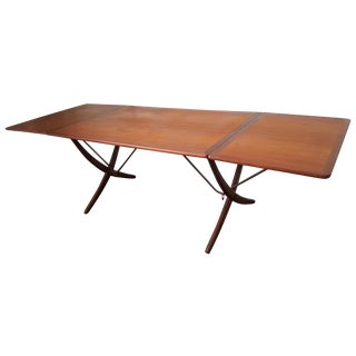 Hans Wegner Vintage At-304 Teak Dining Table