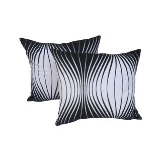 Black & White Mod Pillows - A Pair