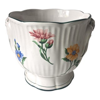 Tiffany Italian Faience Planter Cachepot
