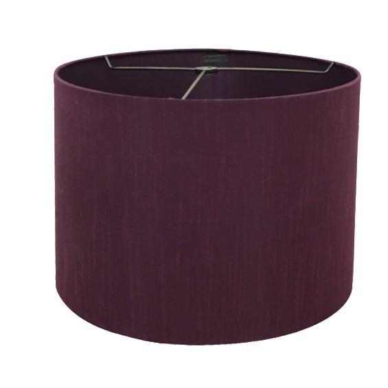80 S Glam Purple Silk Lamp Shade Chairish