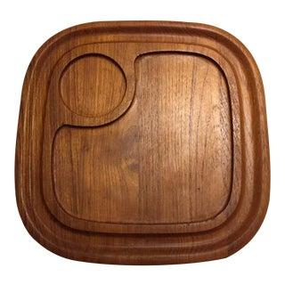 Goodwood Teak Chip & Dip Platter