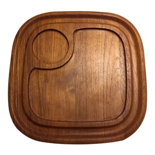 Goodwood Teak Chip & Dip Platter