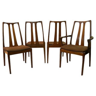 Nathan Furniture Mid-Century Dining Chairs - Set of 4