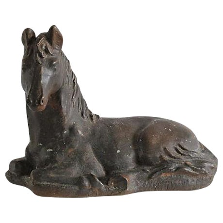 Image of Stone Horse Sculpture