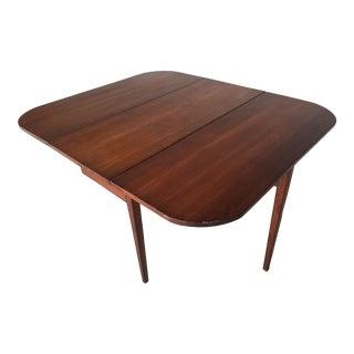 Antique Cherry Gate Leg Drop Leaf Table