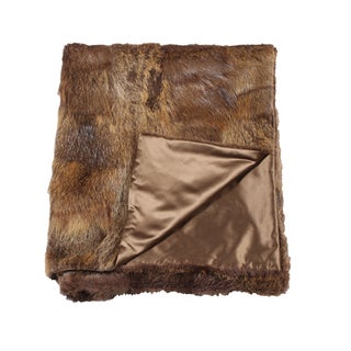 Mink Upcycled Throw