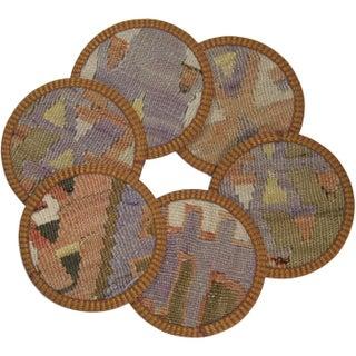 Takkeciler Kilim Coasters - Set of 6