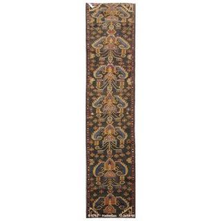 Vintage Persian Hamedan Rug - 2'2'' x 14'10''