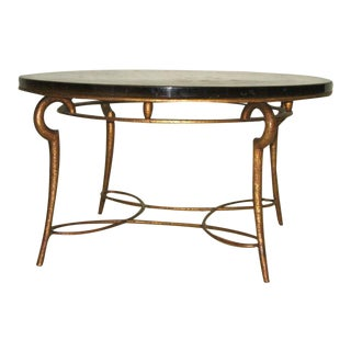 Exquisite French 40's Cocktail Table by Rene Drouet