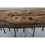 Image of Long Custom Wooden Bench