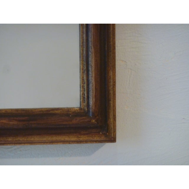 Image of Italian Carved Wood Mirror