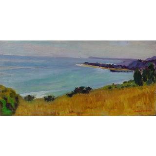 Blue Malibu Oil Painting
