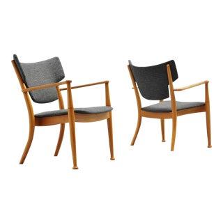 Peter Hvidt and Orla Molgaard Nielsen Portex Easy Chairs, 1944
