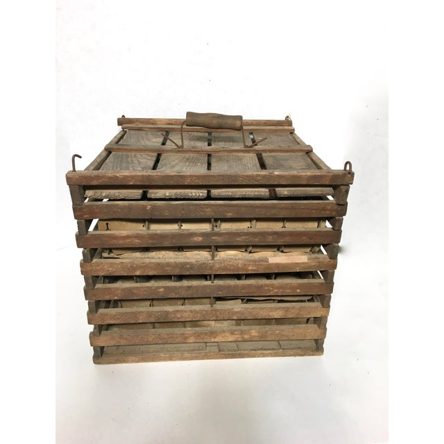 Antique Humpty Dumpty Egg Crate - Image 5 of 6