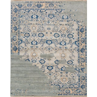 "Apadana Contemporary Wool Rug - 8'1"" X 10'3"""