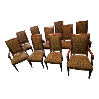 Ethan Allen Townhouse Collection Adison Dining Chairs - Set of 10