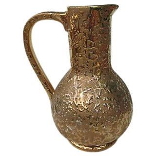 24k Weeping Gold Pitcher