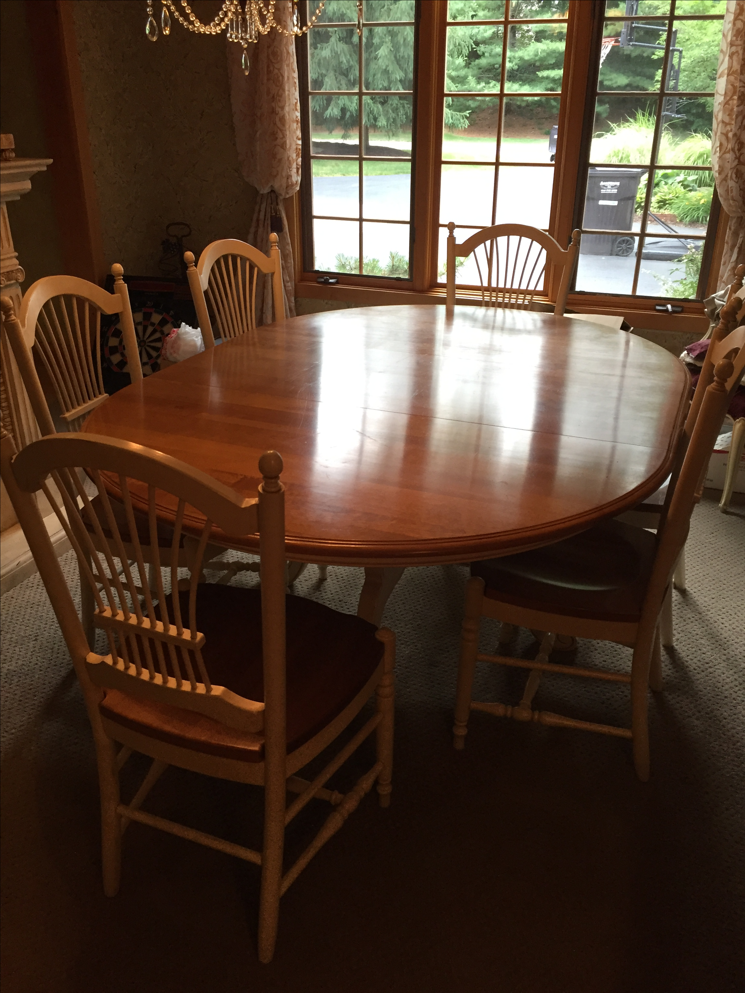 ethan allen country french dining set collections