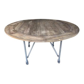 Restoration Hardware Round Dining Table