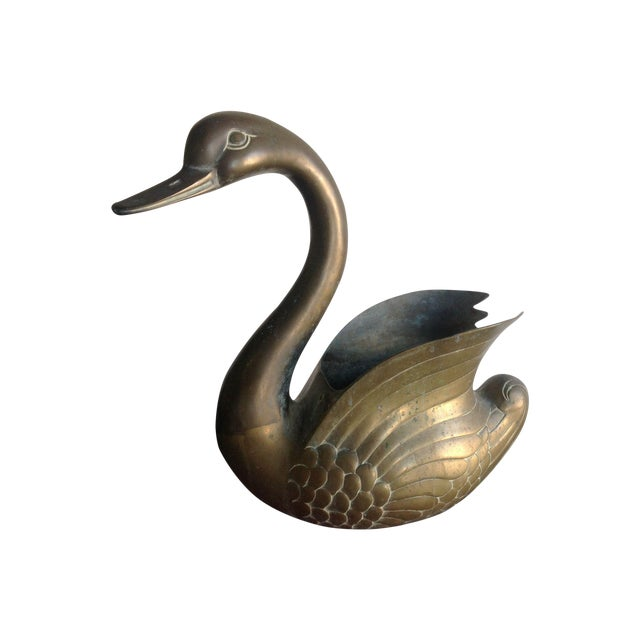 Image of Extra Large Swan Planter