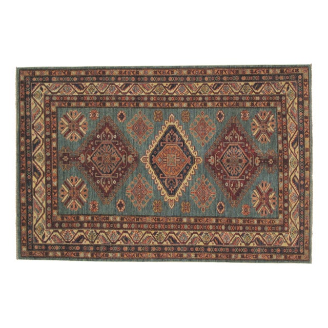 Leon Banilivi Super Kazak Carpet - 6' X 4' - Image 1 of 5