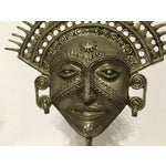 Image of Metal Incan Sun God Mask