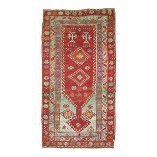 Vintage Turkish Anatolian Prayer Rug, 3'2''x 5'7''