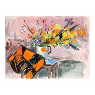 Autumn Flowers, C.1950 by Edith Alder