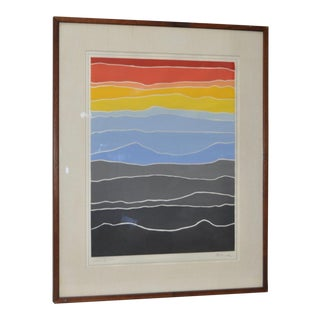 Vintage Framed Silkscreen by Arthur Secunda