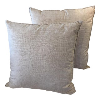 Textured Throw Pillows- A Pair