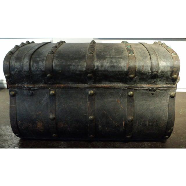 Antique Storage Trunk - Image 6 of 11