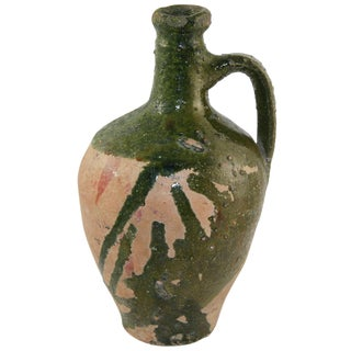 Rug & Relic Green Glazed Earthenware Jug